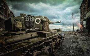Картинка оружие, армия, British Comet Cruiser Tank