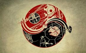 Картинка звездные войны, star wars, инь-янь