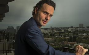 Картинка взгляд, актер, Andrew Lincoln, Walking Dead