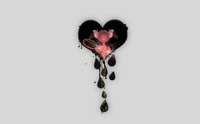 Картинка Сердце, ангелы, слёзы