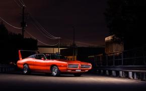 Картинка красный, Dodge, red, мускул кар, додж, Charger, muscle car, чарджер