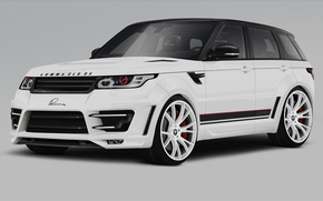 Картинка тюнинг, Range Rover Sport, tuning, передок, Ленд Ровер, LUMMA Design, Ренж Ровер Спорт