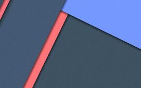 Картинка синий, красный, полосы, голубой, геометрия, design, color, material