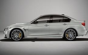 Картинка BMW, Серый, БМВ, Профиль