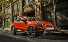 Картинка Fiat, фиат, 2015, 500X, Trekking