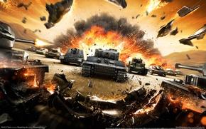 Обои танки, games, world of tanks