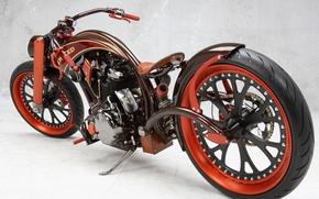 Обои мотоцикл, мощь, тюнинг
