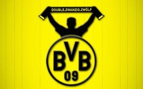 Картинка wallpaper, sport, logo, football, Borussia Dortmund