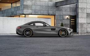 Картинка Mercedes-Benz, AMG, Wheelsandmore, Grey, Side, Tuned, 600HP