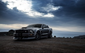 Картинка Car, Muscle, Aristo, 281, Grey, Collection, Boss, San Francisco, Front, Mustang, Ford