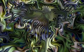 Картинка линии, блеск, цвет, объем, складки