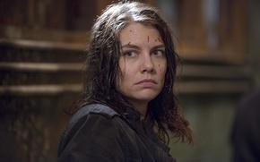 Обои лицо, Maggie, The Walking Dead, Ходячие мертвецы, Lauren Cohan