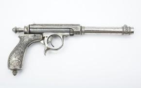 Обои пистолет, рукоять, курок, затвор