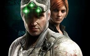 Картинка Tom Clancy, Сэм Фишер, Ubisoft, Blacklist, Splinter Cell, stealth