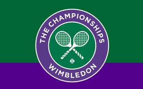 Картинка wallpaper, sport, logo, tennis, The Championships, Wimbledon