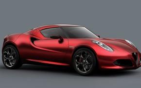 Картинка купе, Alfa Romeo, родстер