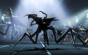 Картинка фантастика, жуки, пришельцы, Arachnid, Starship Troopers