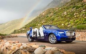 Картинка Rolls-Royce, кабриолет, Dawn, роллс-ройс, даун