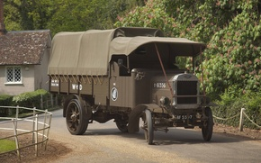 Картинка ретро, грузовик, классика, автомашина