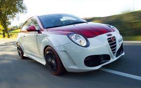 Обои авто, скорость, Alfa Romeo, альфа рамео