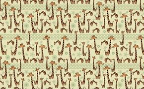 Картинка юмор, жирафы, Текстура