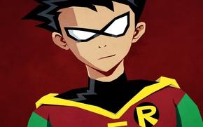 Картинка комикс, Robin