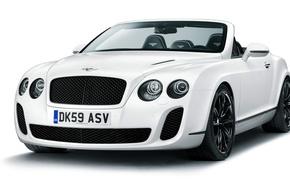 Обои Bentley, Continental, Supersports, кабриолет