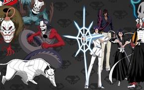 Картинка game, Bleach, anime, bankai, hero, asian, Kurosaki Ichigo, Rukia Kuchiki, manga, japanese, arrow, oriental, asiatic, …