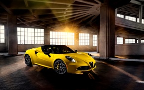 Картинка Alfa Romeo, спайдер, альфа, ромео, Spider, US-spec, 2015, 960