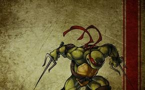 Картинка Черепашки-ниндзя, ninja turtles, рафаэль, raphael