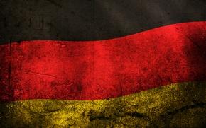 Обои флаг, цвета, германия