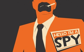 Картинка TF2, Team Fortress 2, Шпион, Spy, Spycrab