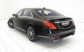 Обои 2015, brabus, mercedes-benz, s-klasse,  b50, hybrid, w222