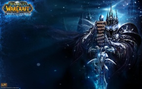 Обои WoW, Король Лич, Lich King, World of Warcraft