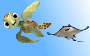 Обои hoof, friendship, adventure, design, Nemo, movie, sea floor, Finding Dory, ocean floor, Pixar, Disney, film, ...