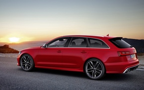Картинка Audi, ауди, универсал, Wagon, V-8, RS 6 Avant