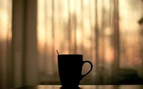 Обои новое утро, кофе, настроения, чашка