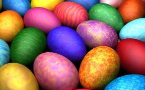 Картинка узор, цвет, пасха, Яйца