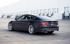 Картинка Audi, ауди, черная, black
