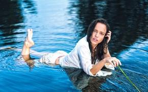 Картинка девушка, в воде, Stephanie