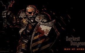 Картинка RPG, Darkest Dungeon, Red Hook Studios, Man-at-arms