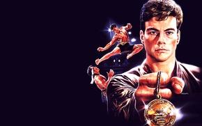 Обои Bloodsport, Кровавый спорт, Jean-Claude Van Damme, каратэ, классика, Жан-Клод Ван Дамм, Bolo Yeung