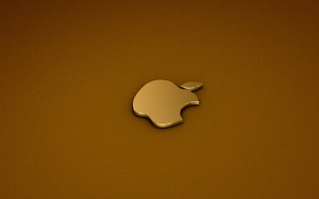 Обои apple, logo