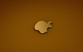 Обои apple, logo