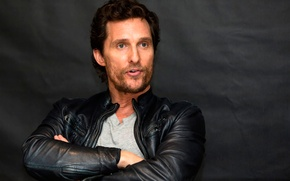 Картинка Matthew McConaughey, пресс-конференция, Interstellar