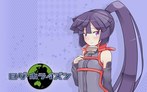 Картинка Девушка, милашка, anime, art, хвостик, Akatsuki, log horizon