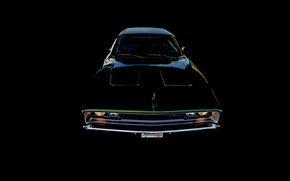 Картинка Dodge, передок, 1968