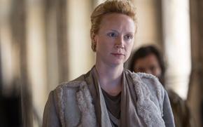 Обои Gwendoline Christie, The Hunger Games:Mockingjay - Part-2, Commander Lyme, Голодные игры:Сойка-пересмешница