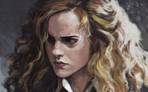 Картинка Emma Watson, art, Harry Potter, Hermione Granger