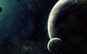 Картинка dark, planets, sci fi